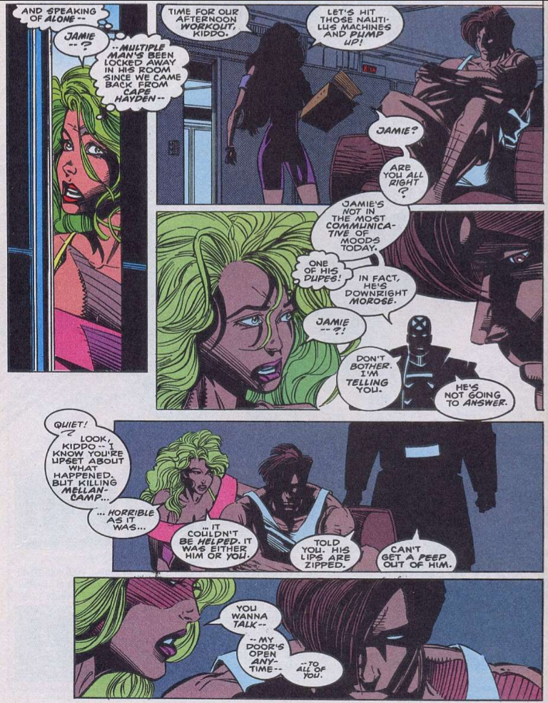 Gentlemen of leisure x amining x factor 93 lila cheney fresh off her appearances in x force pops up in this issue attempting to hire guido back as her manager like her x force appearances publicscrutiny Choice Image