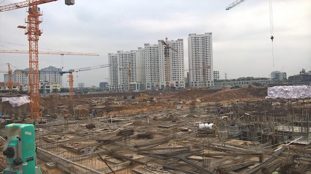 tiến độ tòa A5 chung cư An Bình City