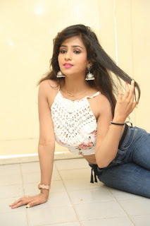 Deekshita Parvathi in a short crop top and Denim Jeans Spicy Pics Beautiful Actress Deekshita Parvathi January 2017 CelebxNext (183).JPG