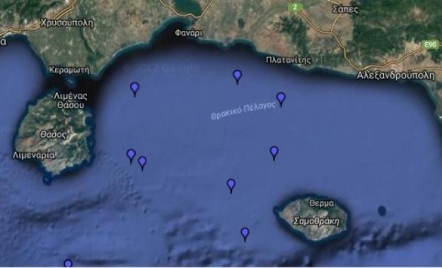 Νέα τουρκική NAVTEX για έρευνες μεταξύ Θάσου - Σαμοθράκης