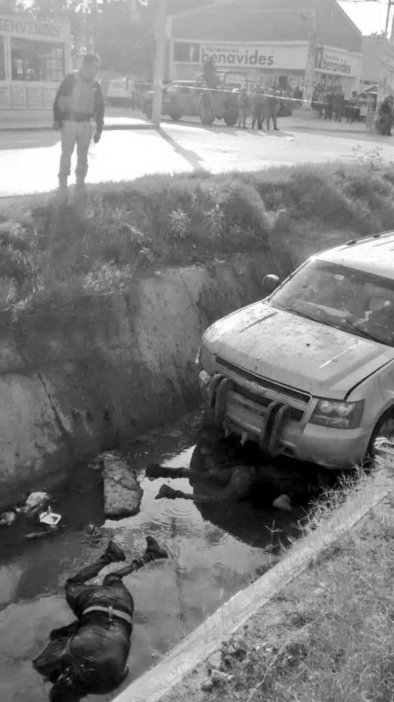 Ayer CINCO del Cartel del Golfo muertos, hoy CUATRO mas, NUEVE EN TOTAL REY2