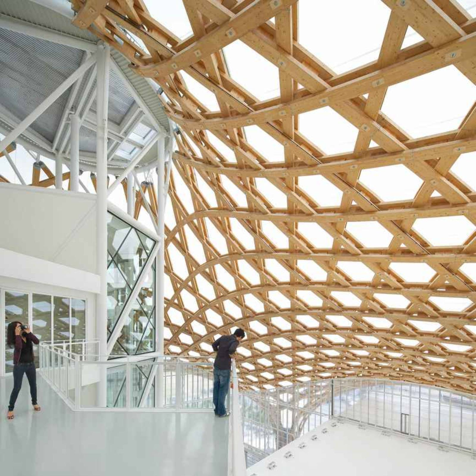 Architecture Now And The Future Centre Pompidou Metz By