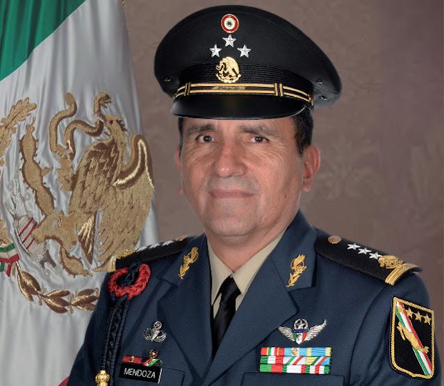 General de División Homero Mendoza Ruiz, nuevo comandante de la X Región Militar