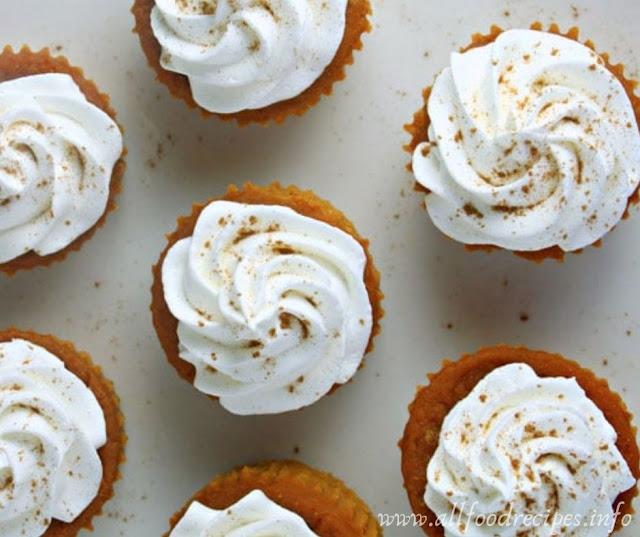Delicious Pumpkin Pie Cupcakes