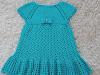 Vestido em Crochê Infantil 2 á 3 anos