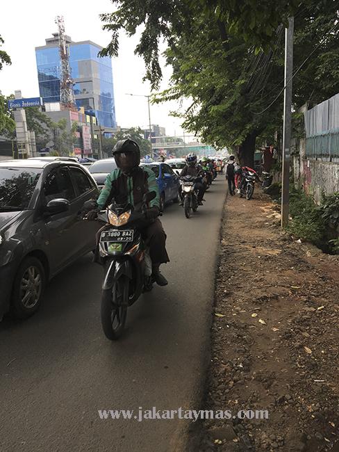Las motos en Yakarta