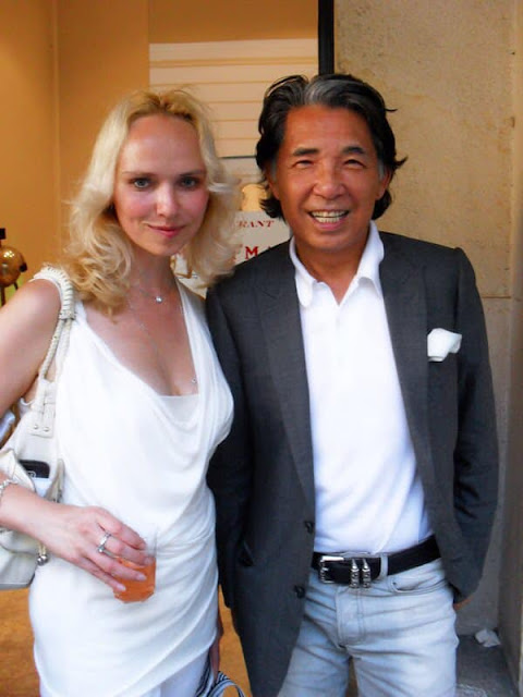 Kenzo Takada and Eleonora de Gray – Editor-in-Chief of RUNWAY MAGAZINE
