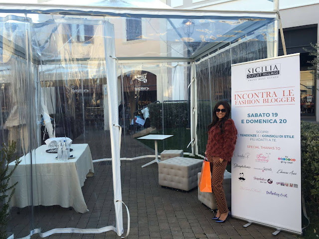 sicilia outlet village incontra le blogger siciliane