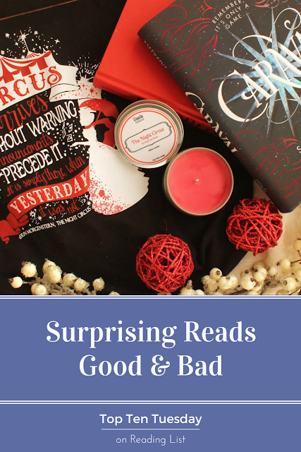 Surprising books - good and bad... and worth a look