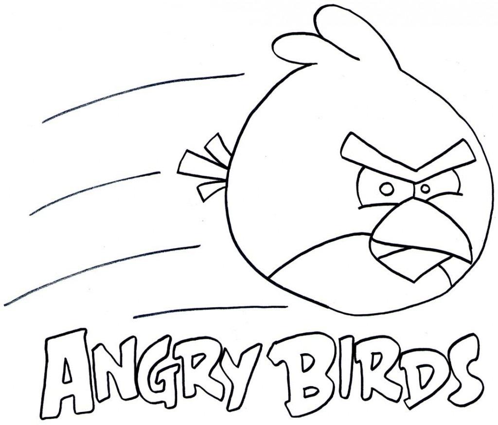 Desenhos Para Pintar: Desenhos Dos Angry Birds Para Colorir