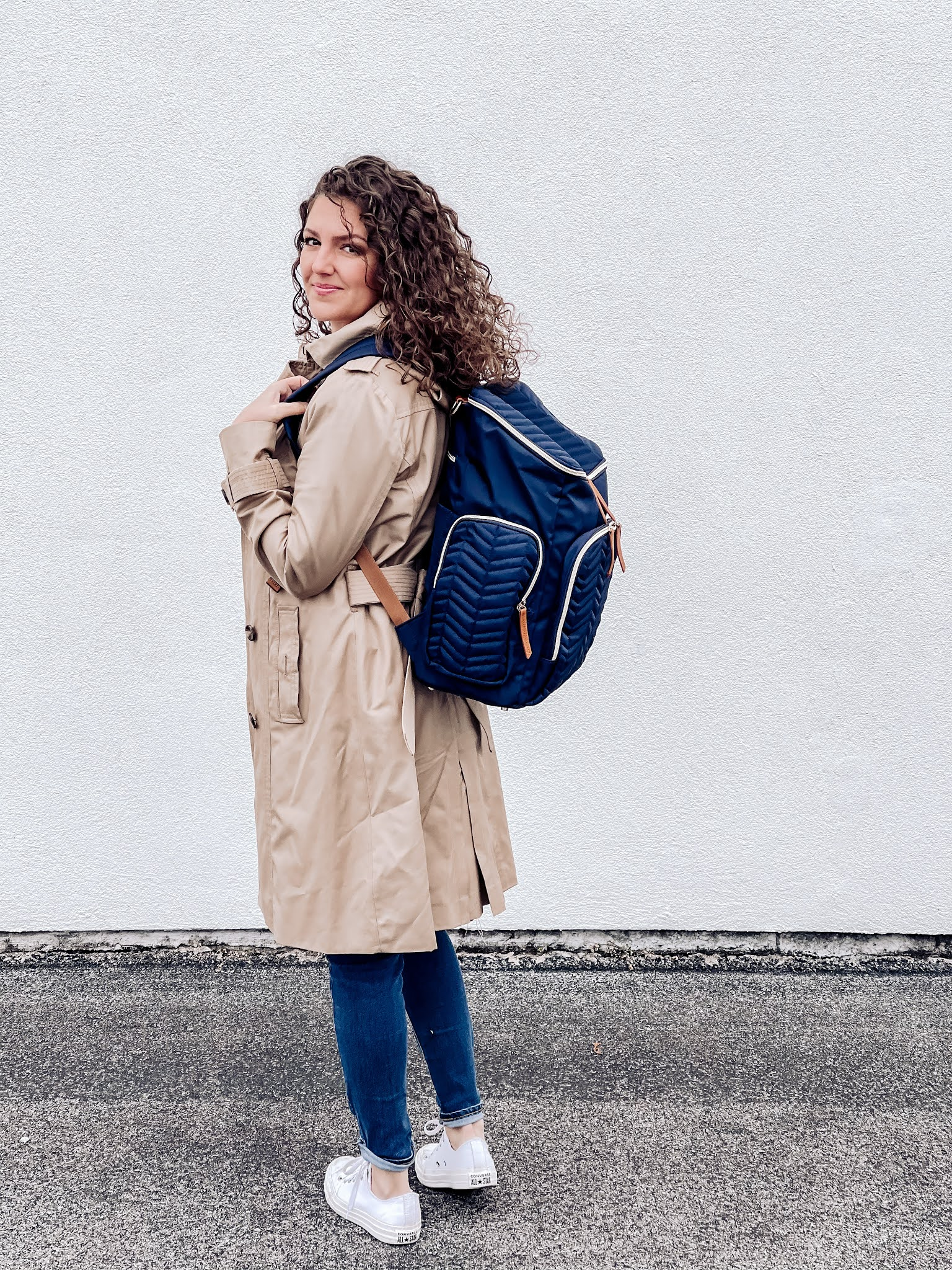 Shaw Avenue | Navy Brielle Austin Fowler Backpack