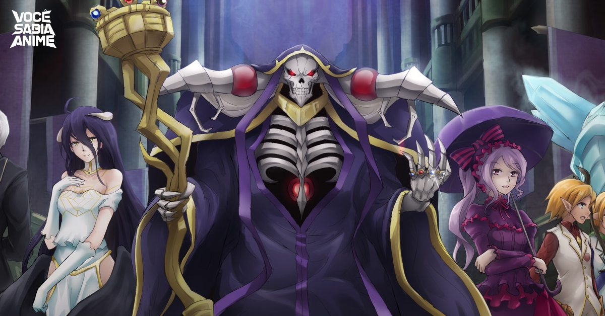 Editora JBC Anuncia Light Novel de Overlord