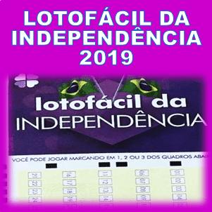 Análises lotofácil da Independência 2019 comportamento das dezenas