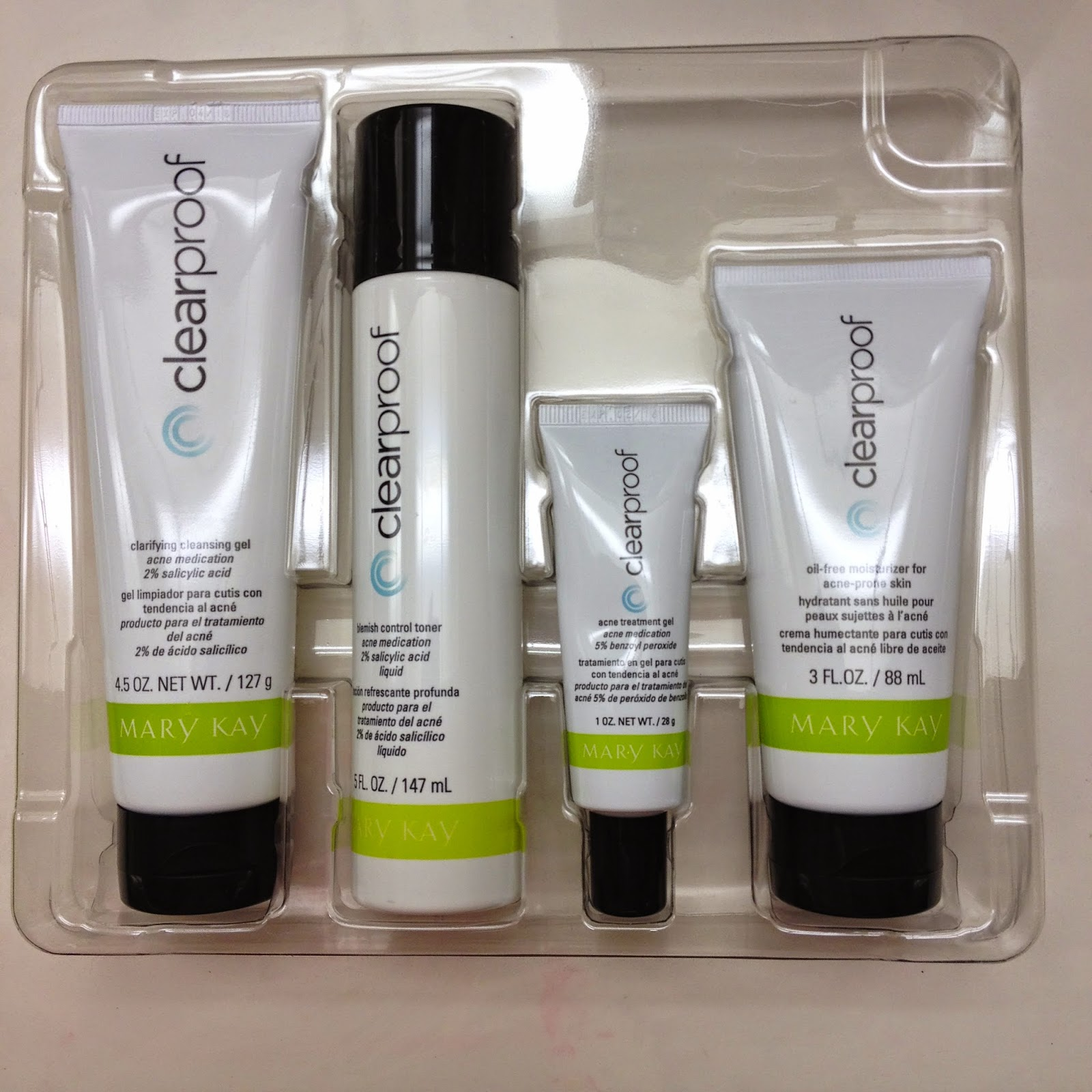 Mary Kay Clearproof Acne Clearing System Review Rixiepixie
