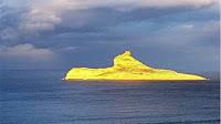 جزيرة ''بلاو'' في رفراف تتحوّل إلى ذهب فيديو