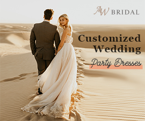 AW Bridal Customized Wendding Party Dresses