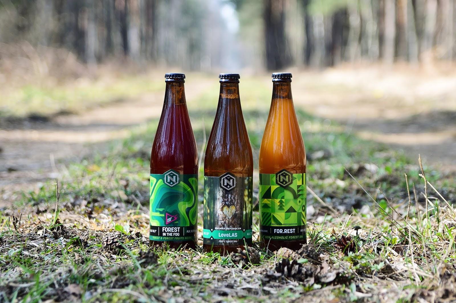 Forest - leśne piwa z browaru Nepomucen