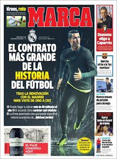 portada deportiva Marca 09112016
