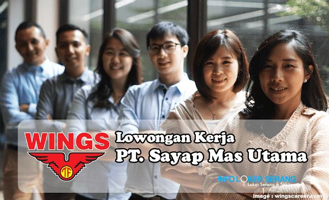 Lowongan Kerja Sales Kosmetik PT Sayap Mas Utama (Wings Group) Area Serang