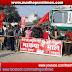 केंद्र सरकार के खिलाफ ट्रेड यूनियन के आह्वान पर भारत बंद का दिखा असर