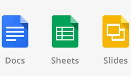 المستندات جداول البيانات Google