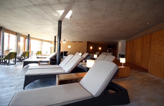 Ruheraum im Spa Leitlhof