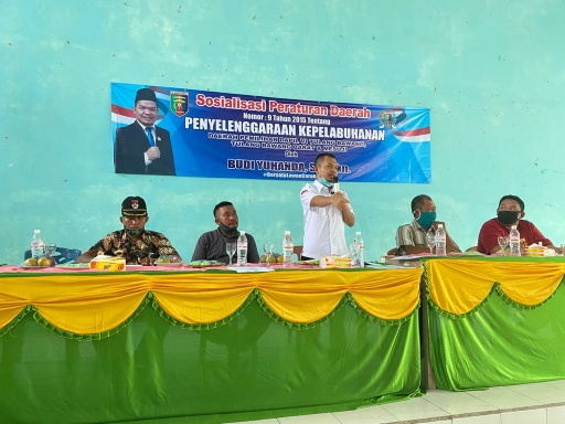DPRD Lampung Budi Yuhanda Sosper Penyelenggaraan Pelabuhan