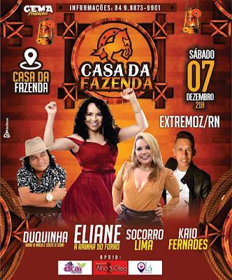 CASA DA FAZENDA 07 DE DEZEMBRO - EXTREMOZ/RN