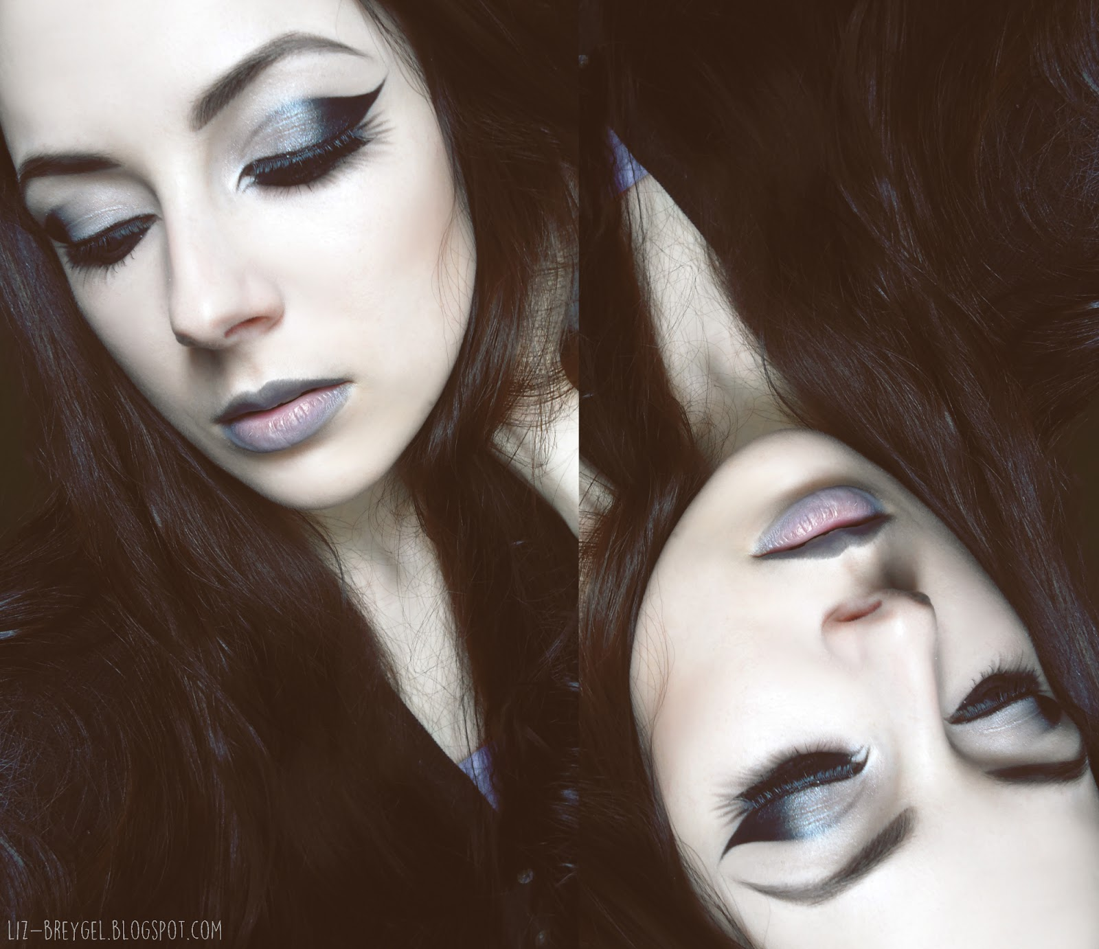 makeup step by step tutorial gothic grunge dark makeup pictures gothic ...