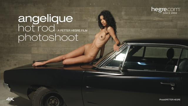[Art] Angelique - Hot Rod Photo Shoot