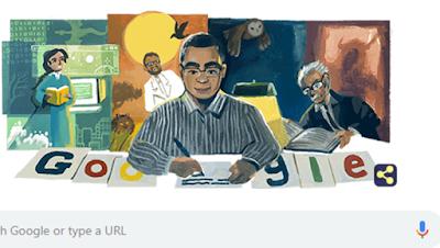 غوغل تحتفل بميلاد الروائي المصري الراحل أحمد خالد توفيق كاتب مصر روايات كتب
