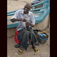 Aboki, cobler disappeared after been forced  to wear a shoe he charmed for a woman
