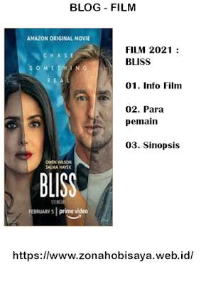 Sinopsis Film Terbaru 2021 Bliss