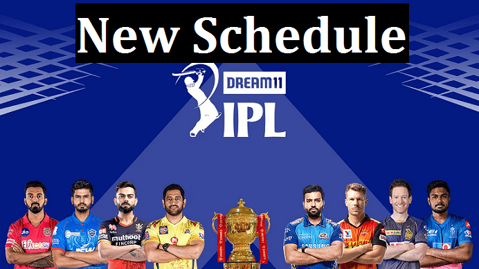 IPL 2021 phase 2 full schedule
