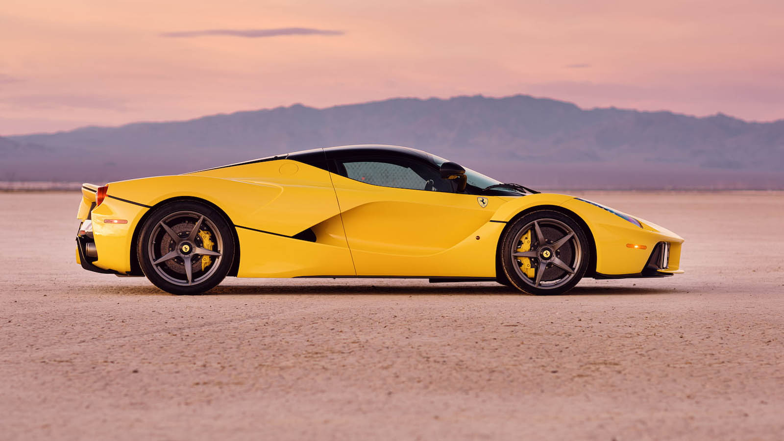 There S A Yellow Laferrari Up For Grabs With Only 317