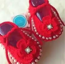 Zapatos de Bebé a Crochet