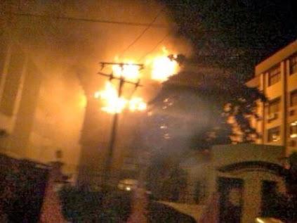 nta reporter killed housefire
