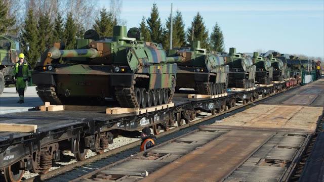 Gran despliegue militar de OTAN cerca de fronteras de Rusia