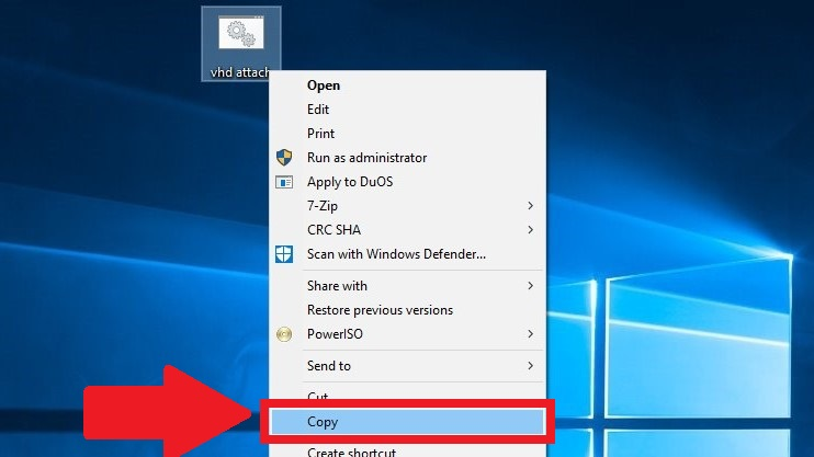Automatically Mount Virtual Hard Disk at Startup in Windows