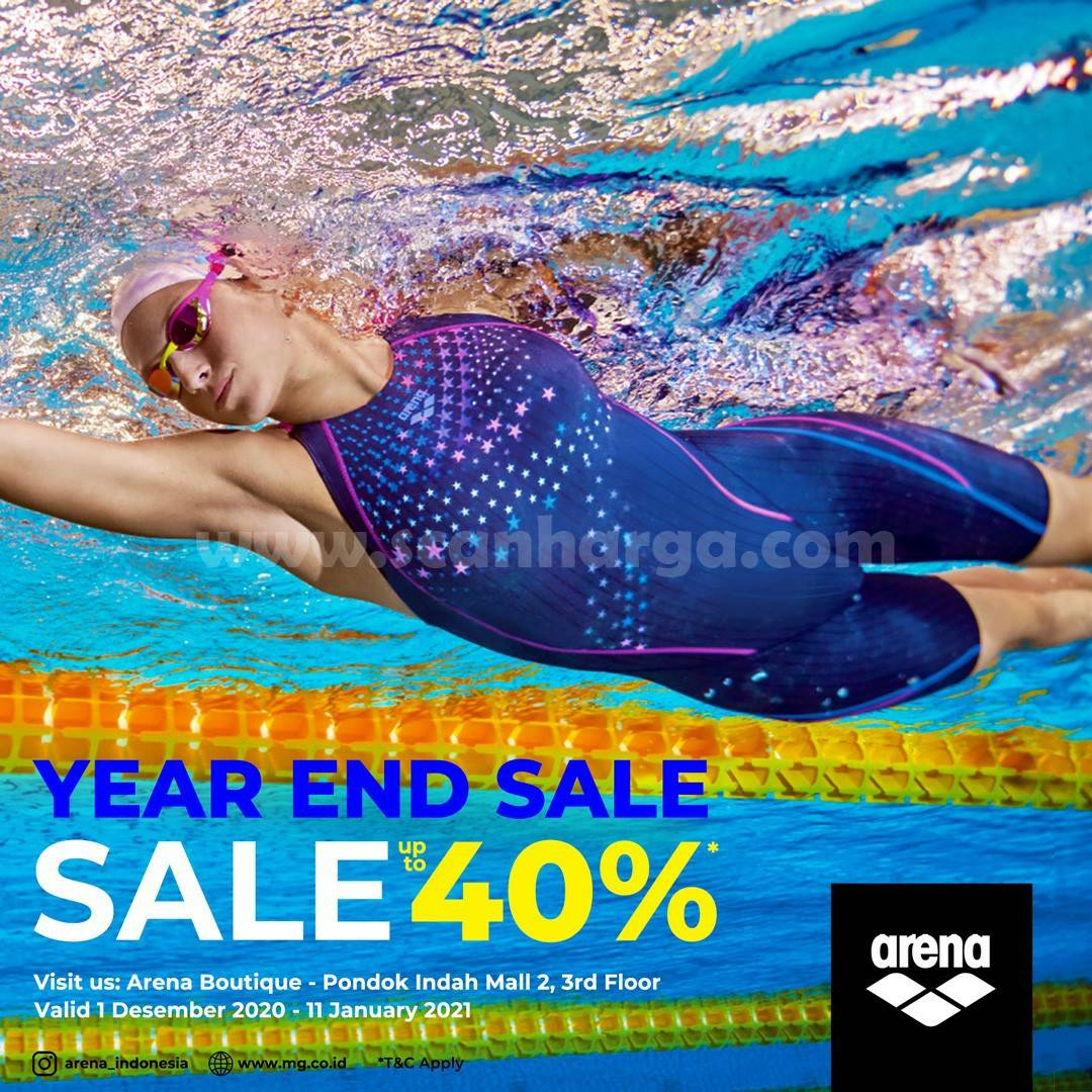 ARENA Boutique Promo Year End Sale up to 40% off