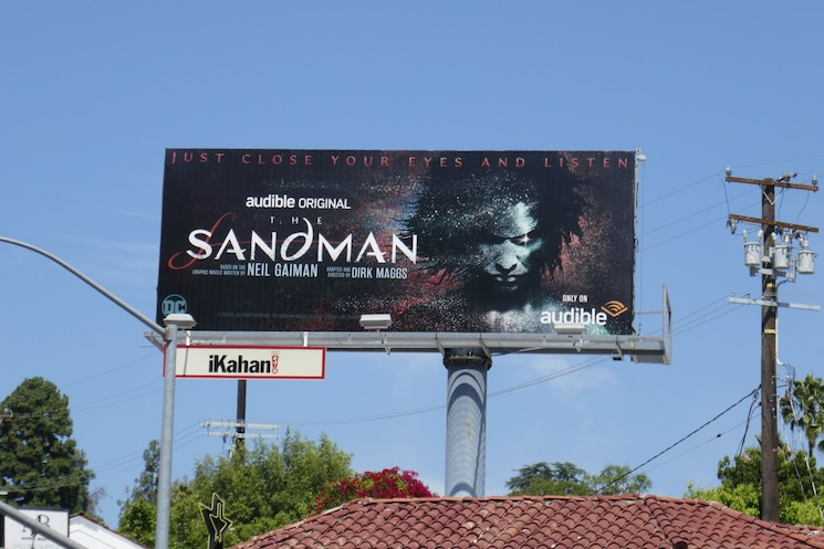 DC Sandman Audible billboard