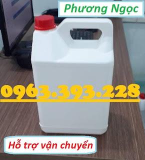 Can nhựa HDPE nguyên sinh, can nhựa đựng hóa chất 5 Lít, can nhựa 5L A487f286c8162c487507