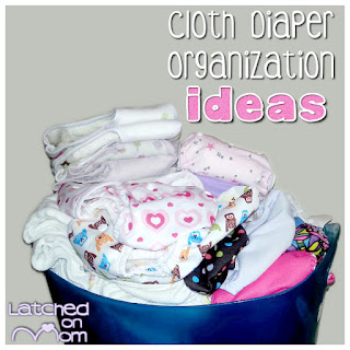 Cloth Diaper Storage
