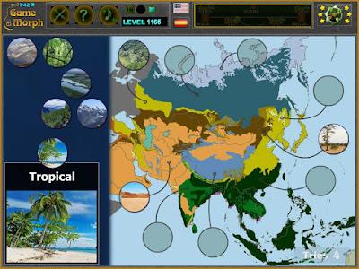 Природни Зони на Азия