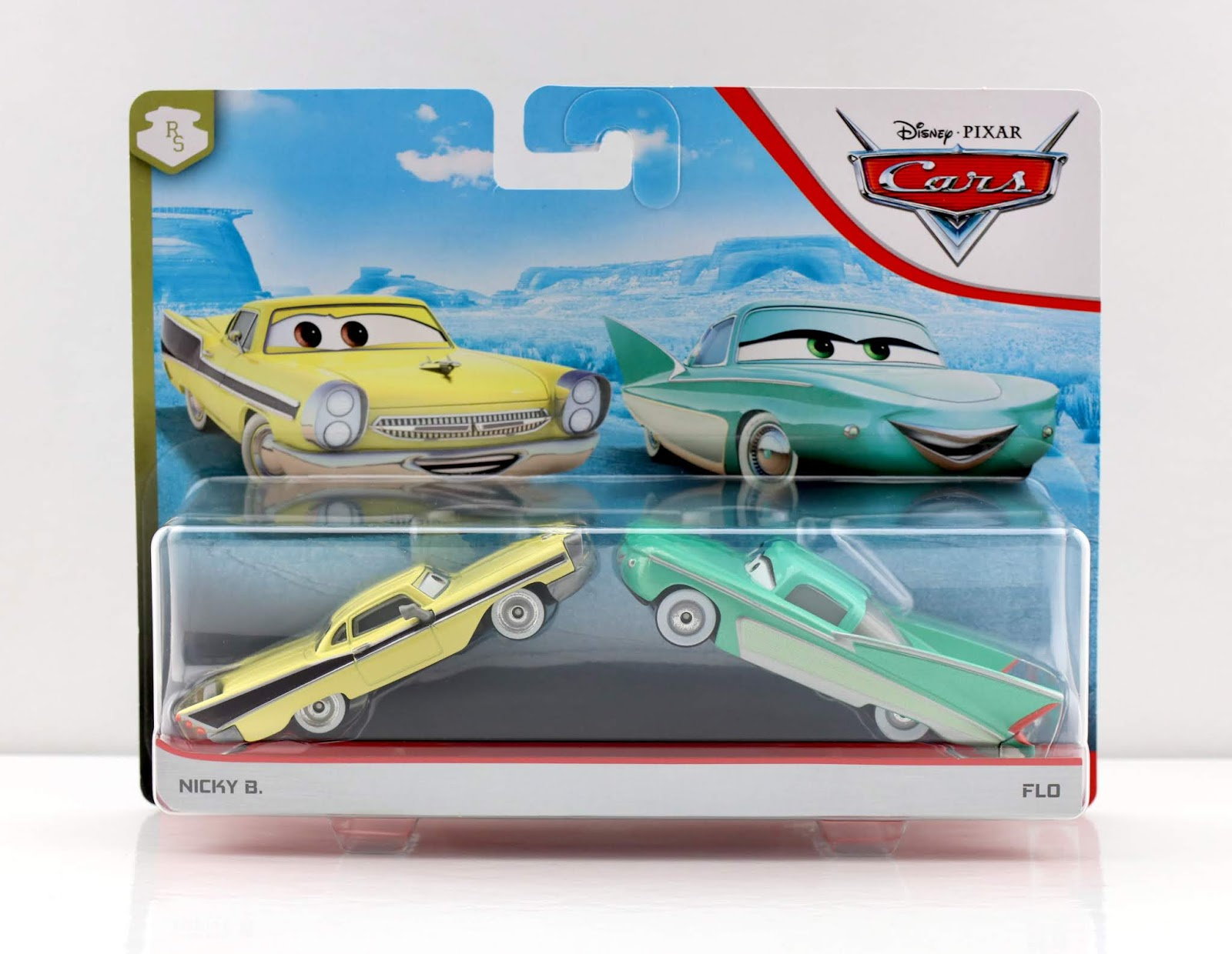 Cars diecast Nicky B. & Flo 2-Pack review