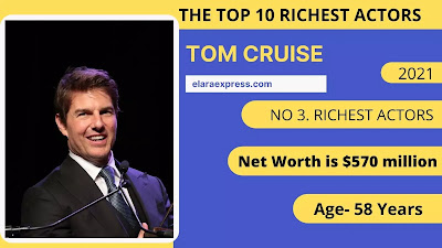 3 of 10 Richest actors in the world
