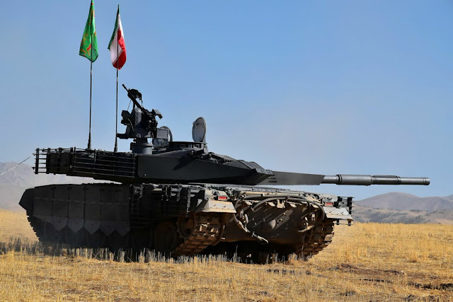 Image Attribute: Iranian armed forces officially unveiled its newest Karrar main battle tank / Photography: Sheykh Babak .