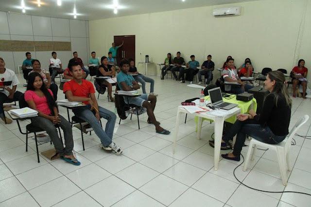 89 professores indígenas terminam em setembro último dos 10 módulos do Projeto Açaí