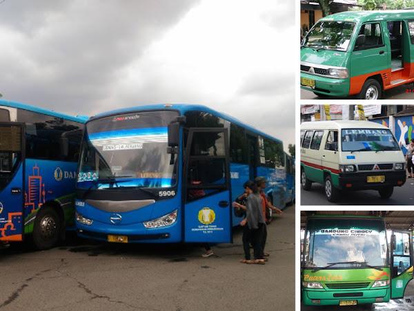 Tips Wisata Di Bandung Naik Angkutan Umum Wisatajabar Com