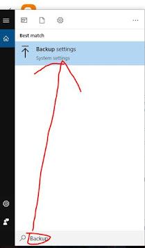 operating system Windows Backup